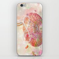 forever young iPhone & iPod Skins featuring Forever Young by Lisa Argyropoulos