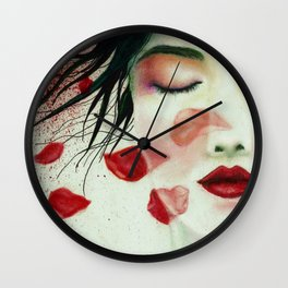 Head Wounds Wall Clock