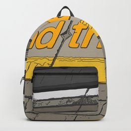 Mind the Gap in London Backpack