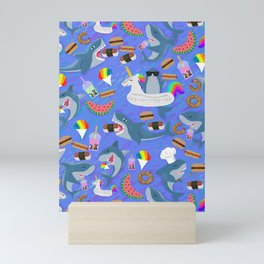 SHARKS OF HAWAII Mini Art Print