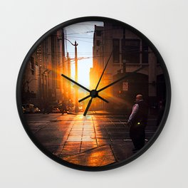 i'm lost and that's ok Wall Clock