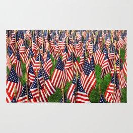 Field Of Flags Rug