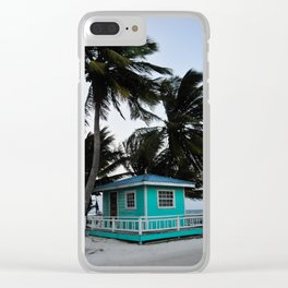 Take Me Away to Belize! Clear iPhone Case