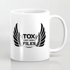 Tox Files - Black on White Mug