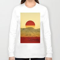 outdoor Long Sleeve T-shirts featuring Warm abstraction by Stoian Hitrov - Sto