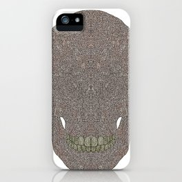 Skull_n iPhone Case