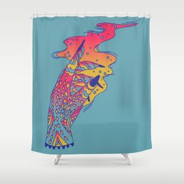 Witch Hand Shower Curtain