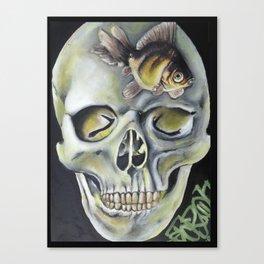 aquatic horror Canvas Print