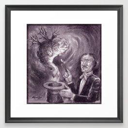 Bo Alvarsson: Magician Framed Art Print