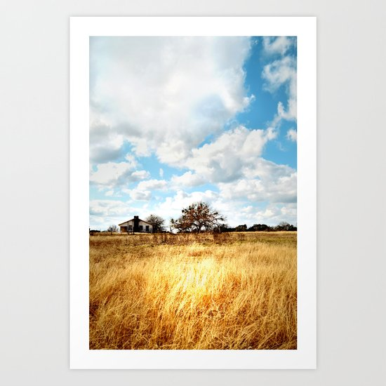 the homestead. Art Print