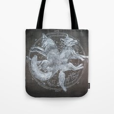 The White Foxes Tote Bag