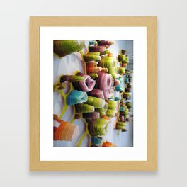 Flameobic Opulation Framed Art Print