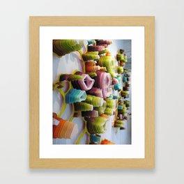 Flameobic Opulation Framed Art Print
