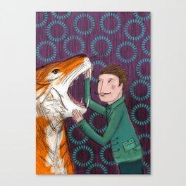 Der Tiger Canvas Print