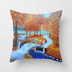 Autumn landscape 5 Throw Pillow