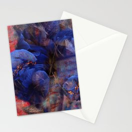 Floral Abstract (79) Stationery Cards