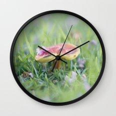 Dance of the Shroom Wall Clock