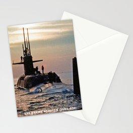 USS DANIEL WEBSTER (SSBN-626) Stationery Cards