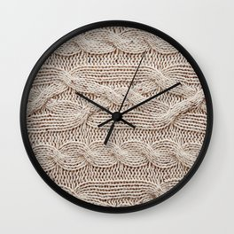 sweater Wall Clock