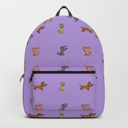 small dogs 2. art Backpack