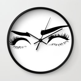 eyez on the prize Wall Clock