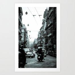 Naples, Spanish Quarter 1 Art Print