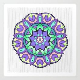 Mandala Awakening 2 Art Print