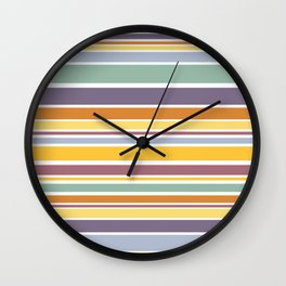 The Perfect Yellow Door II Wall Clock
