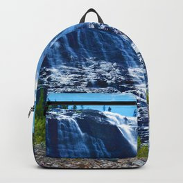 Geraldine Waterfall located in Jasper National Park, Canada Backpack