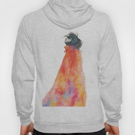 The Girl with the starry mantle Hoody