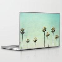 beach Laptop & iPad Skins featuring Palm Trees  by Bree Madden