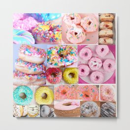 doughnut grid Metal Print