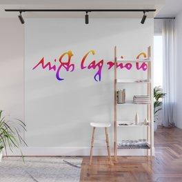 Michelangelo's pride signature Wall Mural