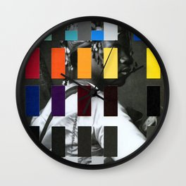 Untitled (or, The Historical Burden of Color Theory) Wall Clock