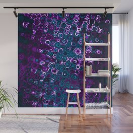 Purple Gnarly Mess Wall Mural