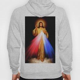 Jesus Divine Mercy I trust in you Religion Religious Catholic Christmas Gift Hoody
