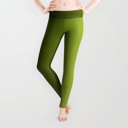 Ombre Greens Reversed 1 Leggings