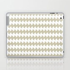 jaggered and staggered in tidal foam Laptop & iPad Skin