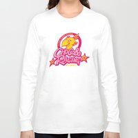racing Long Sleeve T-shirts featuring Chocobo Racing by Faniseto