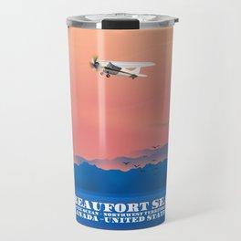 Beaufort Sea Canada USA Travel Mug