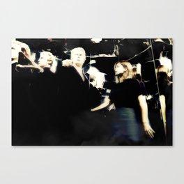 Kiss it to Death Canvas Print