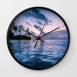Guadeloupe #society6 #decor #buyart Wall Clock