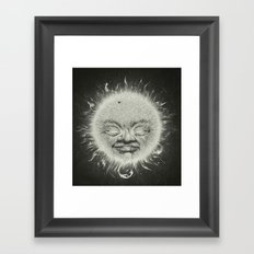 Sirious A Framed Art Print