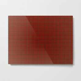 MacKintosh Tartan Metal Print