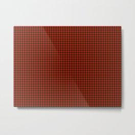 MacKintosh Tartan Metal Print