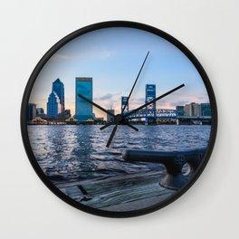 Jacksonville Waterfront Wall Clock