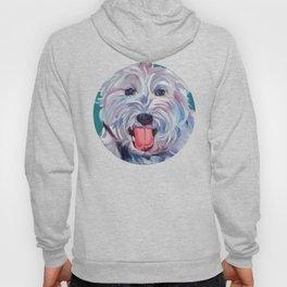 The Westie Kirby Dog Portrait Hoody