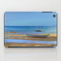 philippines iPad Cases featuring Philippines beach by Maria Zborovska