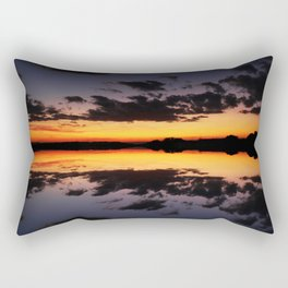 Reflecting Sunset - 4 Rectangular Pillow