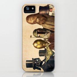 Victorian Wars (square format) iPhone Case